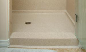 Install A Solid Surface Shower Pan Extreme How To