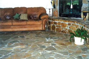 Install A Rock Floor Inside Your Home Extreme How To