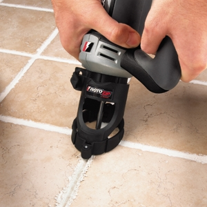 Rotozip With Grout Removal Attachment