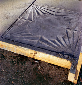 The Resulting Stamped Concrete