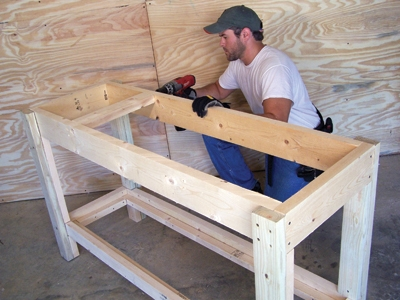 Easy To Build Workbench Extreme How To