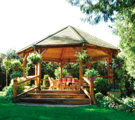 Backyard Gazebo build your own backyard gazebo - extreme how to