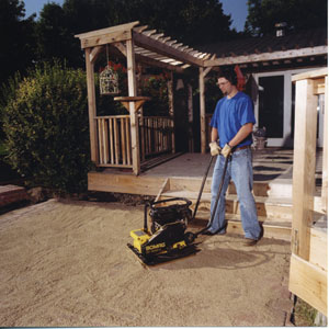 Plate Compactor Basics for the DIY'er - Extreme How To