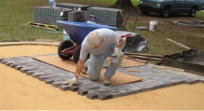 Build A Patio Using Pavers Extreme How To