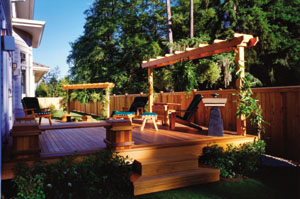 perg2 Building a Red Cedar Pergola