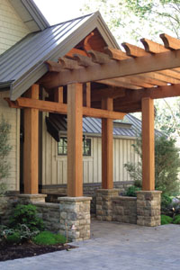 Building A Red Cedar Pergola Extreme How To