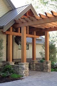 perg3 Building a Red Cedar Pergola