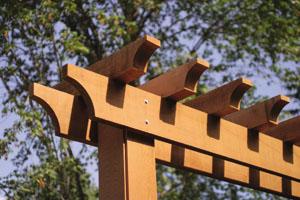 perg5 Building a Red Cedar Pergola