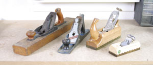 Various Types of Hand Planes