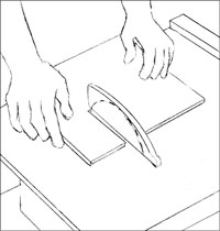 slatestep1 Installing Slate Tile