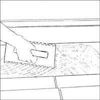 slatestep2 Installing Slate Tile