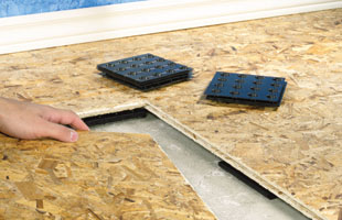 & Installing a Floating Subfloor - Extreme How To